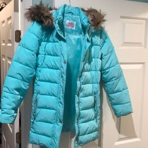 Girls winter coat Justice size 16/18